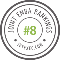 Ivy Exec EMBA Rankings Badge